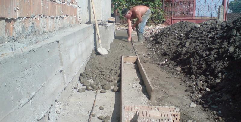 Lucrari pentru consolidarea unei case