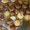 Ciuperci umplute la cuptor