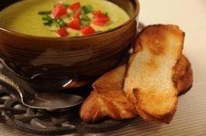 Supa de vara cu smantana