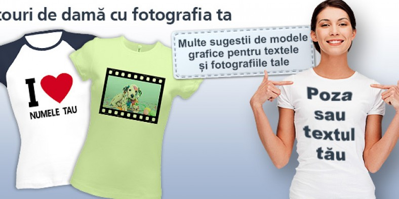 Cum se ne facem propriile tricouri personalizate?
